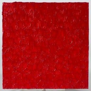 Tableau doigté - 2013 - acrylique sur toile - 20 x 20 cms